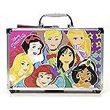 Markwins Disney Princess Makeup Train Case - Maletín de Maquillaje de 2 Pisos - Set de Maquillaje para Niñas - Maquillaje Pri