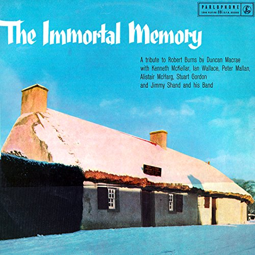 Immortal Memory - A Tribute to...