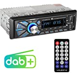 Majestic DAB-442 BT RDS stereo/DAB+ PLL autoradio (Bluetooth, Dual USB, SD/AUX-IN, 180W (45W x 4CH) zwart