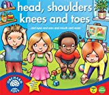 Orchard Toys Head, Shoulder, Knees and Toes - Juego educativo infantil de aprendizaje de partes básicas del cuerpo humano