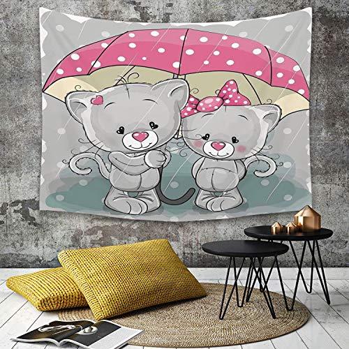 Tapestry,Hippie Tapiz,tapiz pared decoración hogar,Caricatura
