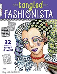 Tangled Fashionista, The: 32 Pages to Tangle & Color! (Design Originals) by Sandy Steen Bartholomew (2012-06-07)