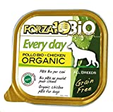 Forza10 Every Day Pollo Bio Pate (Huhn Geschmack) Nassfutter für Hunde, 1er Pack (1 Box x 18 PCS)
