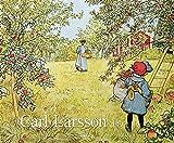 Carl Larsson 2019: Kunstkalender mit Werken des Künstlers Carl Larsson. Großer Wandkalender im Jugendstil. Querformat: 55 x 45,5 cm, Foliendeckblatt