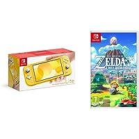 Nintendo Switch Lite - Yellow + Legend of Zelda Links Awakening Standard Edition