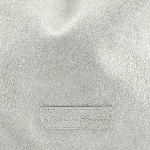 Fritzi aus Preußen Joanna Kuba Borsa a spalla 42 cm Grigio
