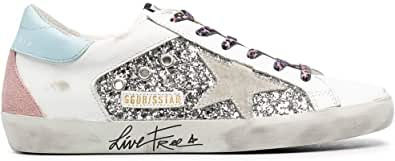Golden Goose Luxury Fashion Donna GWF00104F00028480287 Bianco Pelle Sneakers   Ss21