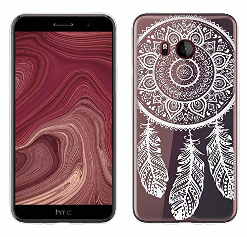 Custodia HTC U 11, Yayago Custodia ultra sottile (o,8mm) per HTC U 11 silicone trasparente con Design Spring