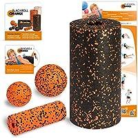blackroll-orange / Dr. Paul Koch 8050710, Blackroll Orange (Das Original) Starter Set mit der Faszienrolle Standard, alles für den erfolgreichen Einstieg ins Faszientraining, inkl. Übungsposter und Booklet