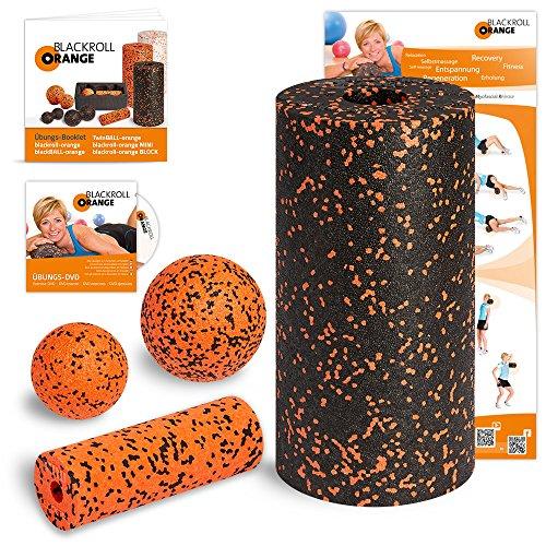 Blackroll Orange (Das Original) Starter Set mit der Faszienrolle Standard, alles für den erfolgreichen Einstieg ins Faszientraining, inkl. Übungsposter und...