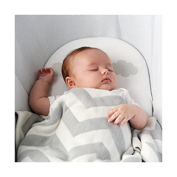 Shnuggle Dreami Moses Basket and Curve Rocking Stand - Pebble Grey  The perfect Moses Basket and Stand to keep baby close, day & night. Breathable 3D Mesh Covers and ventilated base for excellent airflow Quickly change from fixed to rocking position. 7
