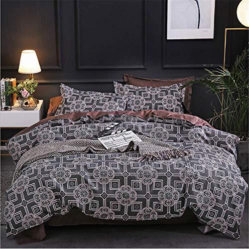 t Big Size Bettwäsche Baumwolle Bettwäsche Full King Queen Twin Single Bettbezug Bettdecke Tröster Fall B 180x210cm ()