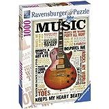 Ravensburger - Music, rompecabezas de 1000 piezas, 70 x 50 cm (196159)