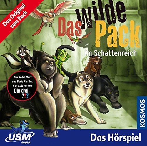 Das wilde Pack (Folge 8) - Das wilde Pack im Schattenreich (Audio CD): Fantastisches Hörspiel für starke Kinder ab 5 Jahren Audio-pack