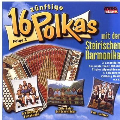 16 Zünftige Polkas mit der Steirischen Harmonika