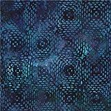 Blauer Robert Kaufman Stoff Strich Quadratform