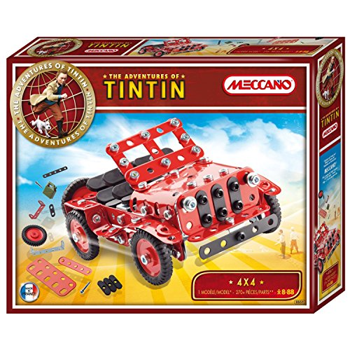 Meccano - 830551 - Jeu de Construction - 4X4 - Collection Tintin