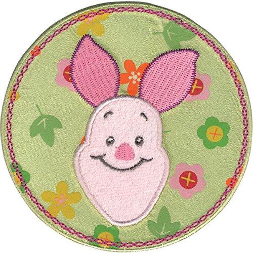 Disney Baby Ferkel in Blume Kreis Aufnäher (Craft Applique Trim)