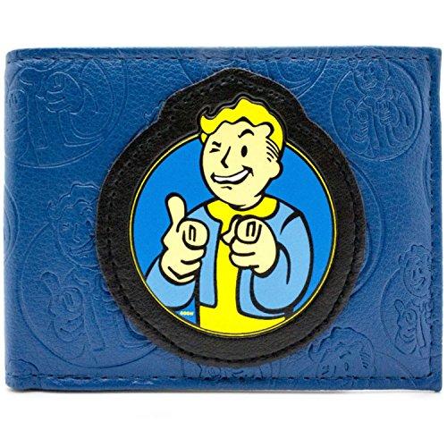 Bethesda Fallout 4 Vault Boy Blau Portemonnaie Geldbörse