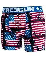 Freegun - USA - Sous-vêtement homme -Freegun boxer homme FLAG
