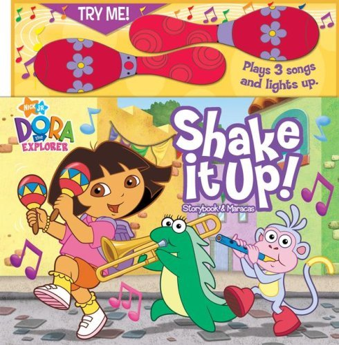Digest-shakes (Shake It Up! [With Maracas] (Dora the Explorer (Reader's Digest)) by Ruth Koeppel (Adapter) › Visit Amazon's Ruth Koeppel Page search results for this author Ruth Koeppel (Adapter), Steve Stavitsky (Illustrator) (19-Aug-2008) Board book)