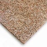livingfloor® Fieltro Césped Artificial Césped Con Grano marrón claro en 1,50m ancho, longitud variable Metro