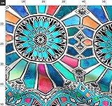 Wasserfarben, Regenbogen, Zirkus, Art Deco, Farbiges Glas,