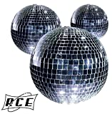 Kit 5 Sfere Specchiate Diametro 50 mm club party palla discoteca effetto speciale anni 70