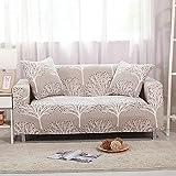 SSDLRSF Universalgröße 1/2/3/4 Sitzer Stretch-Sofabezug Druckblume Sofa deckt Überzüge Couch Abdeckung Möbel Heimtextilien (90-300cm), B6116,3 Sitzer 185-230cm