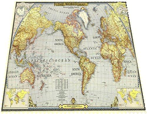 Designer Mikrofaser Brillen Putztuch Brillentücher Welt Land Karte schönes Design schick Neu 100DBPZ3066