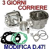 70cc MODIFICA D47 CILINDRO GRUPPO TERMICO TESTA KIT per DERBI SENDA X-TREME 50 - Unbranded - amazon.it