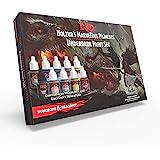 The Army Painter | Dungeons & Dragons Underdark Paint Set | Nolzur's Marvelous Pigments | 10 Peintures Acryliques adaptées à