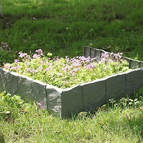 MultiWare Rasenkante/Beeteinfassung für Garten,10Stück
