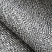 Troutbeck 'verano Haze': Beige tapicería chenilla sofá cojín tela retardante de llama Material de telas Loome, Troutbeck 'Summer Haze Plain' : Beige, 10 x 14 cm sample
