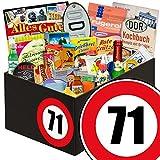71. Geburtstag | DDR Geschenke | Geschenkbox 24tlg.