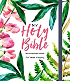 NIV Bible for Journalling and Verse-Mapping: Floral