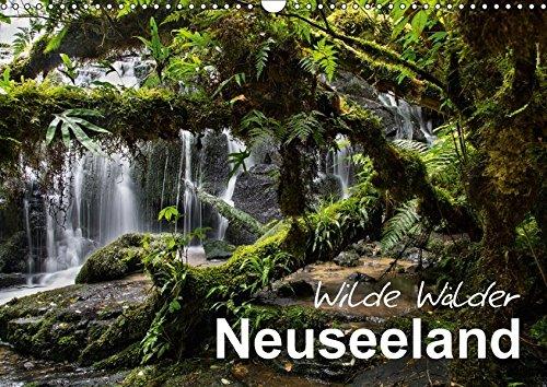Neuseeland - Wilde Wälder (Wandkalender 2018 DIN A3 quer): Tauchen Sie ein in die Urwälder Neuseelands! (Monatskalender, 14 Seiten ) (CALVENDO Natur) [Kalender] [Apr 01, 2017] BÖHME, Ferry
