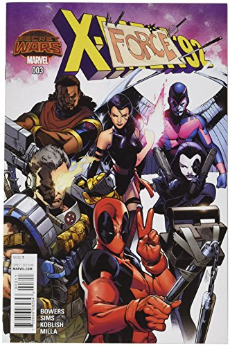 Marvel X-Men '92 #1 Comic Book Pepe Larraz Black & White Cover SDCC 2015 Excl
