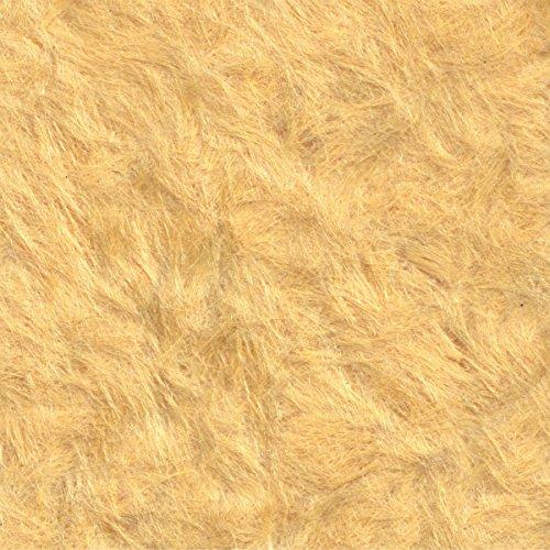 JJTLZY Matériel Mur Vêtements Fiber Revêtement Papier Peint Fond Décoration Murale,Brillant D'or Abricot