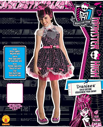 Imagen de monster high  disfraz infantil de draculaura sweet, talla s rubie's spain 880992 s  alternativa