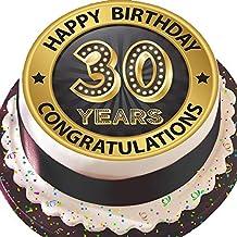 Suchergebnis Auf Amazon De Fur 30 Geburtstag Torte
