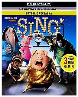 Sing [Blu-Ray 4K]+[Blu-Ray] [Region Free]