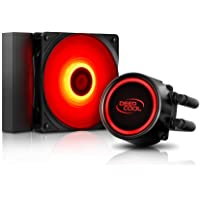 DEEPCOOL Gammaxx L120T Red Water Cooling System for PC
