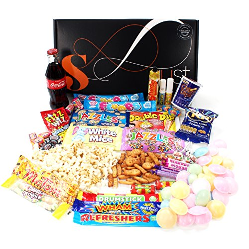 Easter gifts for her amazon retro sweets gift hamper with a twist just treats solar gift box jam packed with the best retro sweets and a glass coke bottle great easter gift for him negle Choice Image