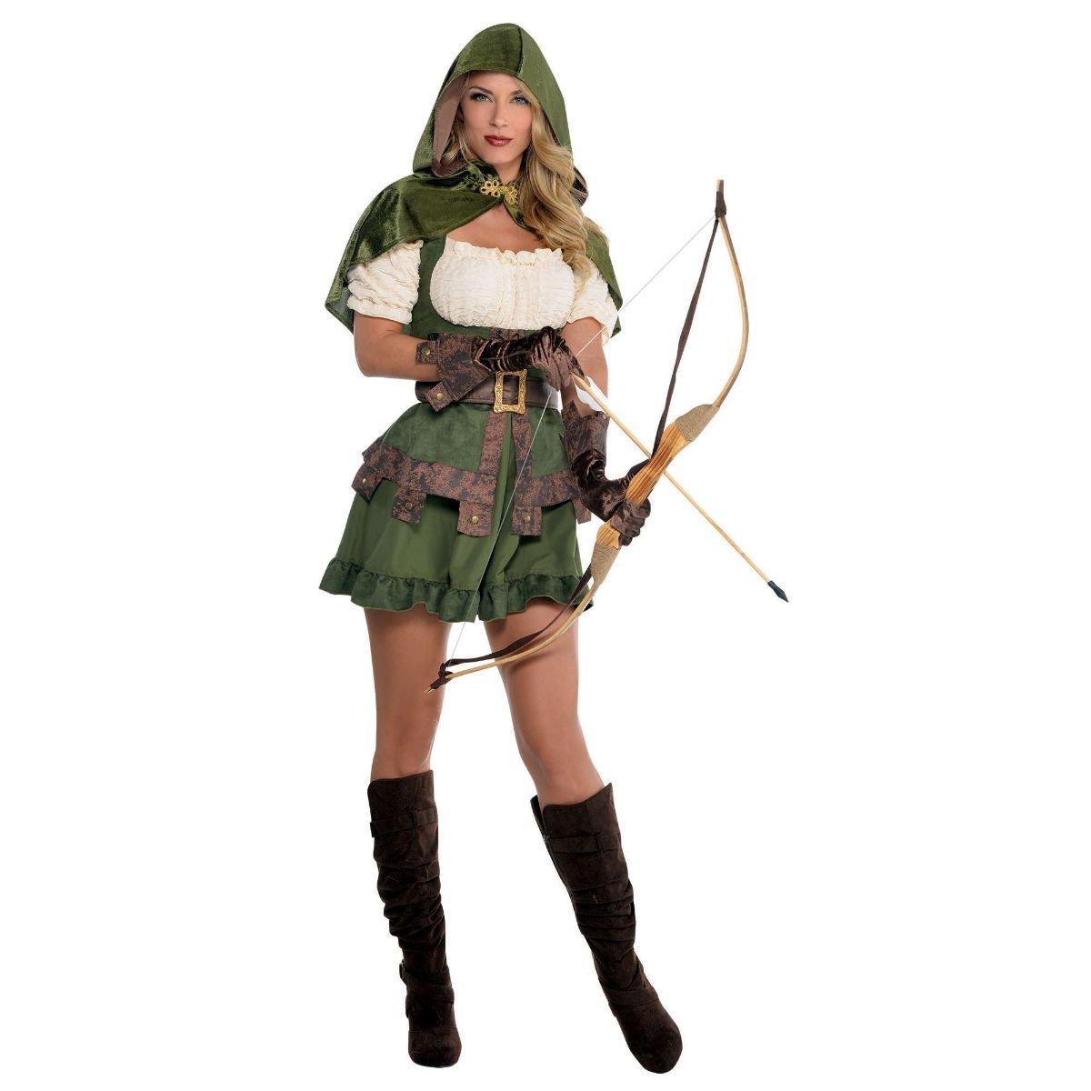 Costume Adulte Femme Robin De Bois Taille 36 38 Amazon Fr  ~ Déguisement Robin Des Bois Femme Adulte