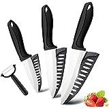 3 couteaux ceramique professionnels - avec étui de protection