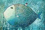 YOBOOM Puzzle Erwachsene Holz Puzzle 1000 Teile Goß Fisch