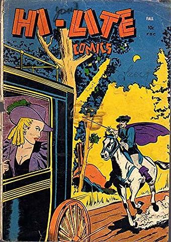 POSTER comics cover Small Publishers Croydon Publishing Co Hi Lite 1 E R Ross Vintage Wall Art Print A3 replica