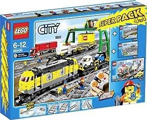 Lego City - 66405 - Jeu De Construction - Super Pack - City Train