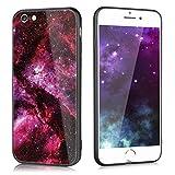 Slynmax Coque Apple iPhone 6s Plus Verre Trempé,iPhone 6 Plus Coque Slim, Étoiles...